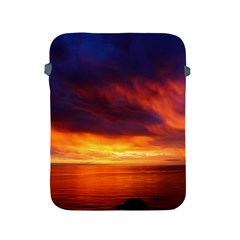 Sunset The Pacific Ocean Evening Apple Ipad 2/3/4 Protective Soft Cases by Amaryn4rt
