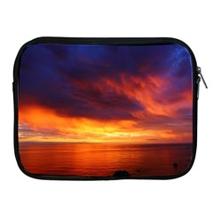 Sunset The Pacific Ocean Evening Apple Ipad 2/3/4 Zipper Cases by Amaryn4rt