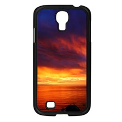 Sunset The Pacific Ocean Evening Samsung Galaxy S4 I9500/ I9505 Case (black) by Amaryn4rt
