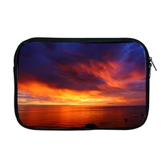 Sunset The Pacific Ocean Evening Apple Macbook Pro 17  Zipper Case by Amaryn4rt