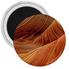 Sandstone The Wave Rock Nature Red Sand 3  Magnets