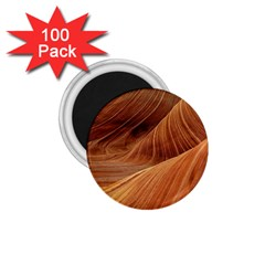 Sandstone The Wave Rock Nature Red Sand 1 75  Magnets (100 Pack)