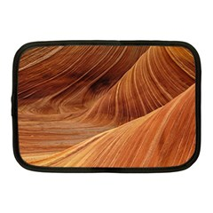 Sandstone The Wave Rock Nature Red Sand Netbook Case (medium)  by Amaryn4rt