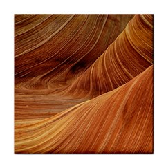 Sandstone The Wave Rock Nature Red Sand Face Towel by Amaryn4rt
