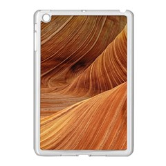 Sandstone The Wave Rock Nature Red Sand Apple Ipad Mini Case (white) by Amaryn4rt