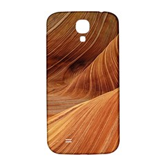 Sandstone The Wave Rock Nature Red Sand Samsung Galaxy S4 I9500/i9505  Hardshell Back Case by Amaryn4rt