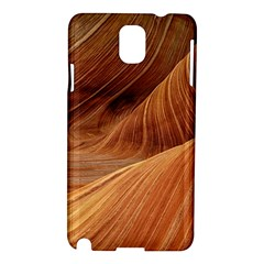 Sandstone The Wave Rock Nature Red Sand Samsung Galaxy Note 3 N9005 Hardshell Case by Amaryn4rt