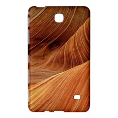 Sandstone The Wave Rock Nature Red Sand Samsung Galaxy Tab 4 (8 ) Hardshell Case  by Amaryn4rt