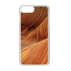 Sandstone The Wave Rock Nature Red Sand Apple Iphone 7 Plus White Seamless Case by Amaryn4rt