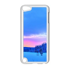 Winter Landscape Snow Forest Trees Apple Ipod Touch 5 Case (white) by Amaryn4rt