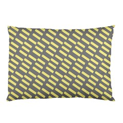 Yellow Washi Tape Tileable Pillow Case by AnjaniArt