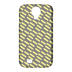 Yellow Washi Tape Tileable Samsung Galaxy S4 Classic Hardshell Case (pc+silicone) by AnjaniArt