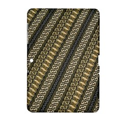 Batik Cap Parang Gendreh Kombinas Samsung Galaxy Tab 2 (10 1 ) P5100 Hardshell Case  by AnjaniArt