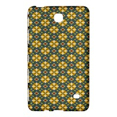 Arabesque Flower Yellow Samsung Galaxy Tab 4 (7 ) Hardshell Case  by AnjaniArt