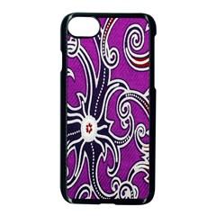 Batik Jogja Apple Iphone 7 Seamless Case (black) by AnjaniArt