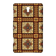Batik Flower Brown Samsung Galaxy Tab S (8 4 ) Hardshell Case  by AnjaniArt