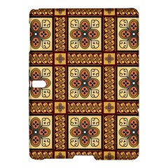 Batik Flower Brown Samsung Galaxy Tab S (10 5 ) Hardshell Case  by AnjaniArt