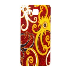 Batik Jogja Java Samsung Galaxy Alpha Hardshell Back Case by AnjaniArt