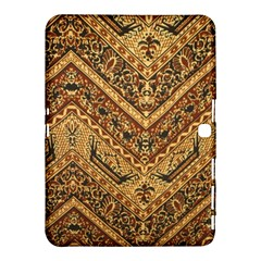 Batik Pekalongan Samsung Galaxy Tab 4 (10 1 ) Hardshell Case  by AnjaniArt