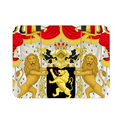 Great Coat Of Arms Of Belgium Double Sided Flano Blanket (mini)  by abbeyz71