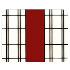 Shoji   Red Double Sided Flano Blanket (medium)