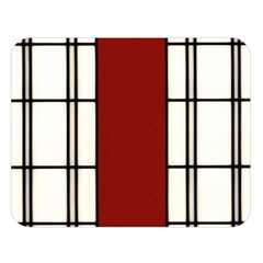 Shoji   Red Double Sided Flano Blanket (large)