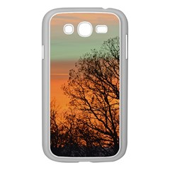 Twilight Sunset Sky Evening Clouds Samsung Galaxy Grand Duos I9082 Case (white)