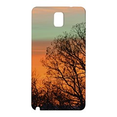Twilight Sunset Sky Evening Clouds Samsung Galaxy Note 3 N9005 Hardshell Back Case by Amaryn4rt