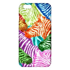 Zebra Colorful Abstract Collage Iphone 6 Plus/6s Plus Tpu Case by Amaryn4rt