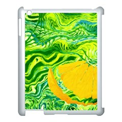 Zitro Abstract Sour Texture Food Apple iPad 3/4 Case (White) by Amaryn4rt
