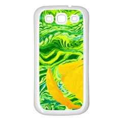 Zitro Abstract Sour Texture Food Samsung Galaxy S3 Back Case (white)