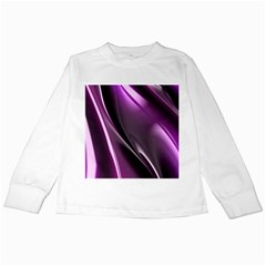 Fractal Mathematics Abstract Kids Long Sleeve T Shirts by Amaryn4rt
