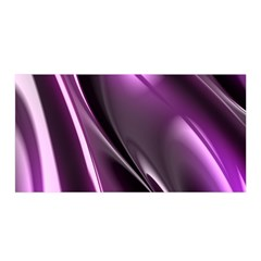 Fractal Mathematics Abstract Satin Wrap by Amaryn4rt