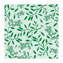Leaves Foliage Green Wallpaper Medium Glasses Cloth by Amaryn4rt