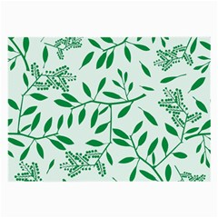 Leaves Foliage Green Wallpaper Large Glasses Cloth by Amaryn4rt