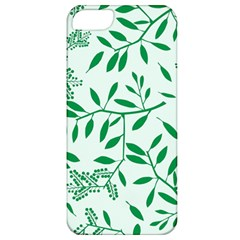 Leaves Foliage Green Wallpaper Apple Iphone 5 Classic Hardshell Case by Amaryn4rt