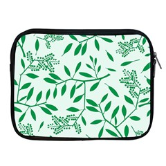 Leaves Foliage Green Wallpaper Apple Ipad 2/3/4 Zipper Cases by Amaryn4rt