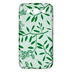 Leaves Foliage Green Wallpaper Samsung Galaxy Mega 5 8 I9152 Hardshell Case  by Amaryn4rt