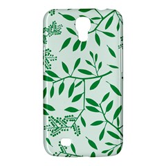 Leaves Foliage Green Wallpaper Samsung Galaxy Mega 6 3  I9200 Hardshell Case by Amaryn4rt