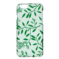 Leaves Foliage Green Wallpaper Apple Iphone 6 Plus/6s Plus Hardshell Case by Amaryn4rt