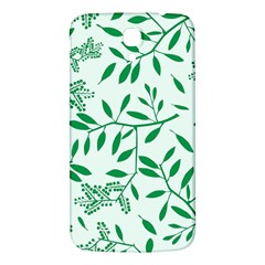 Leaves Foliage Green Wallpaper Samsung Galaxy Mega I9200 Hardshell Back Case by Amaryn4rt