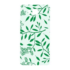Leaves Foliage Green Wallpaper Samsung Galaxy Alpha Hardshell Back Case by Amaryn4rt