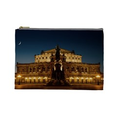 Dresden Semper Opera House Cosmetic Bag (large)  by Amaryn4rt