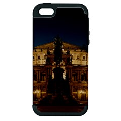 Dresden Semper Opera House Apple Iphone 5 Hardshell Case (pc+silicone)