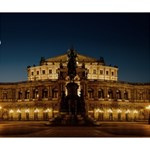 Dresden Semper Opera House Deluxe Canvas 14  x 11  14  x 11  x 1.5  Stretched Canvas