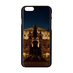 Dresden Semper Opera House Apple Iphone 6/6s Black Enamel Case
