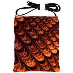 Fractal Mathematics Frax Shoulder Sling Bags by Amaryn4rt