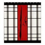 SHOJI - BAMBOO Shower Curtain 66  x 72  (Large)