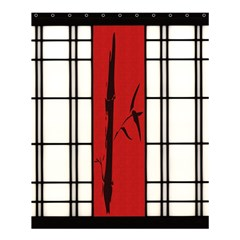 Shoji   Bamboo Shower Curtain 60  X 72  (medium)  by Tatami