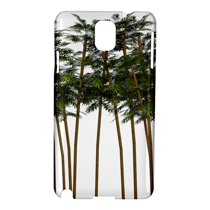 Bamboo Plant Wellness Digital Art Samsung Galaxy Note 3 N9005 Hardshell Case